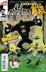 ADV OF MR CRYPT & BARON RAT #1 (OF 3)