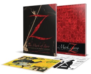 MARK OF ZORRO 100 YRS OF MASKED AVENGER ART DLX ED HC