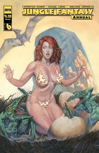 JUNGLE FANTASY ANNUAL 2019 PAINTED