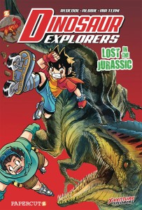 DINOSAUR EXPLORERS GN VOL 05 LOST IN JURASSIC