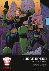 JUDGE DREDD GHOST TOWN 2000 AD DIGEST