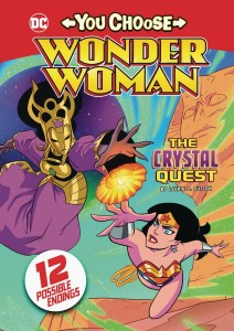 WONDER WOMAN YOU CHOOSE SC CRYSTAL QUEST