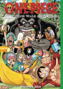 ONE PIECE COLOR WALK COMPENDIUM HC WATER 7 PARAMOUNT WAR