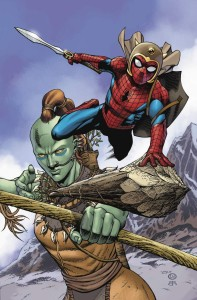 WAR OF REALMS SPIDER-MAN & LEAGUE OF REALMS #2 (OF 3) ARTIST VAR