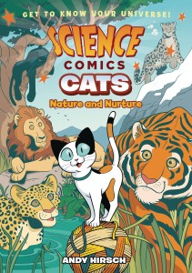 SCIENCE COMICS CATS NATURE & NUTURE GN