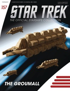STAR TREK STARSHIPS FIG MAG #157 THE GROUMALL
