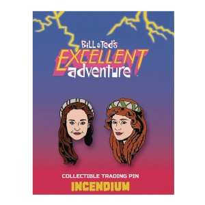 BILL AND TEDS EXCELLENT ADVENTURE LAPEL PIN SET B