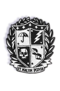 UMBRELLA ACADEMY PATCH CREST LOGO