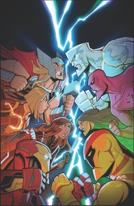 MARVEL ACTION AVENGERS #8 SOMMARIVA
