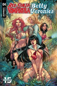 RED SONJA VAMPIRELLA BETTY VERONICA #4 CVR C BRAGA
