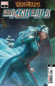 WAR OF REALMS NEW AGENTS OF ATLAS #3 (OF 4) 2ND PTG GANG HYUK VAR
