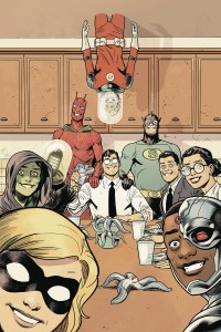 BLACK HAMMER JUSTICE LEAGUE #3 (OF 5) CVR E SHANER