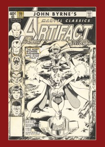 JOHN BYRNE MARVEL CLASSICS ARTIFACT EDITION HC