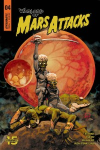 WARLORD OF MARS ATTACKS #4 CVR A JOHNSON