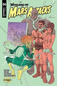 WARLORD OF MARS ATTACKS #4 CVR C VILLALOBOS