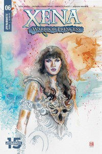 XENA WARRIOR PRINCESS #6 CVR A MACK