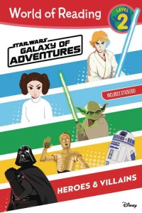 WORLD OF READING STAR WARS GALAXY OF ADV HEROES & VILLAINS