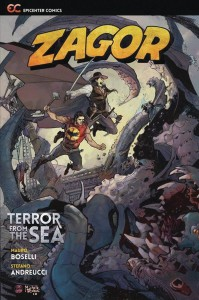 ZAGOR TERROR FROM THE SEA GN VOL 2ND ED