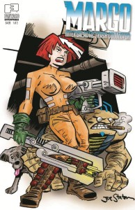 MARGO INTERGALACTIC TRASH COLLECTOR #1 (OF 3) CVR B STATON VAR