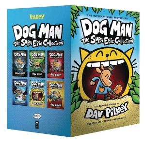 DOG MAN SUPA EPIC COLLECTION