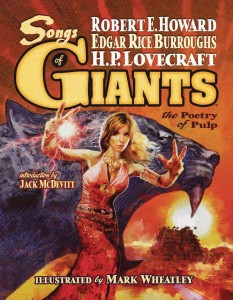 SONGS OF GIANTS POETRY OF PULP LTD HC