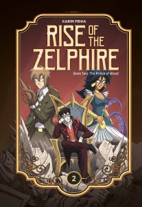 RISE ZELPHIRE HC VOL 02 PRINCE OF BLOOD