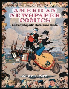 AMERICAN NEWSPAPER COMICS ENCYCLOPEDIC REFERENCE GUIDE HC