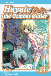 HAYATE THE COMBAT BUTLER GN VOL 34