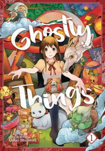 GHOSTLY THINGS GN VOL 01