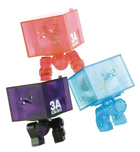 3AGO CLEAR R1 SQUARE FIGURE SET
