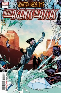 WAR OF REALMS NEW AGENTS OF ATLAS #1 (OF 4) 3RD PTG VAR