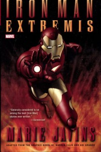 IRON MAN EXTREMIS PROSE NOVEL MASS MARKET TP