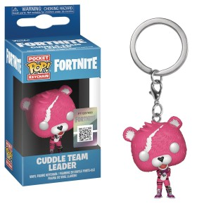 POCKET POP FORTNITE S1 CUDDLE TEAM LEADER KEYCHAIN