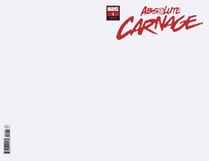 ABSOLUTE CARNAGE #1 (OF 5) BLANK VAR