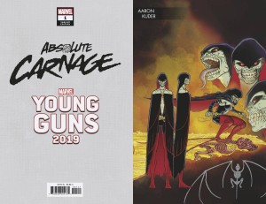 ABSOLUTE CARNAGE #1 (OF 4) KUDER YOUNG GUNS VAR