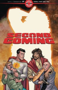 SECOND COMING #1 2ND PTG (MR)