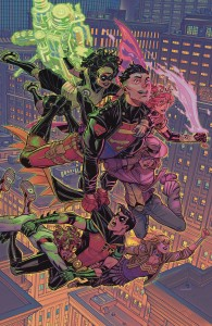 YOUNG JUSTICE #9 CARD STOCK VAR ED