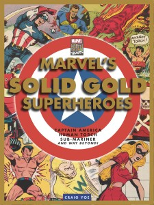 MARVEL SOLID GOLD SUPERHEROES HC