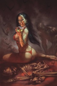 VENGEANCE OF VAMPIRELLA #1 PARRILLO LTD VIRGIN CVR