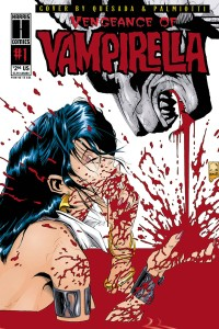 VENGEANCE OF VAMPIRELLA 1994 #1 LTD REPLICA ED