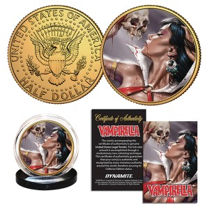 VAMPIRELLA PARRILLO COLLECTIBLE COIN