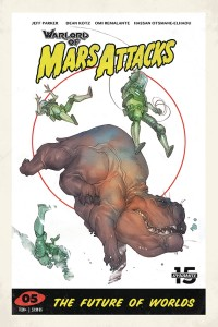 WARLORD OF MARS ATTACKS #5 CVR D CALDWELL