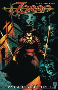 ZORRO SWORDS OF HELL LTD ED HC