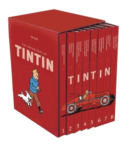 ADV OF TINTIN COMPLETE COLLECTION SET