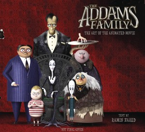 ADDAMS FAMILY ART OF THE ANIMATED MOVIE HC