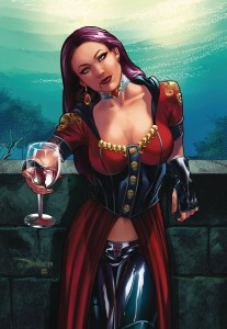 VAN HELSING VS DRACULAS DAUGHTER #3 (OF 5) CVR C SANTACRUZ