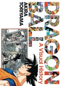 DRAGON BALL VISUAL HISTORY HC ART AKIRA TORIYAMA