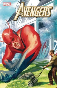 AVENGERS #26 ALEX ROSS MARVELS 25TH VAR