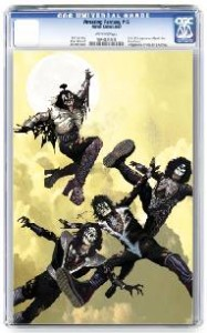 KISS ZOMIBES #1 SUYDAM CGC GRADED