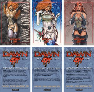 JOSEPH MICHAEL LINSNER DAWN LTD ED PROMO CARDS